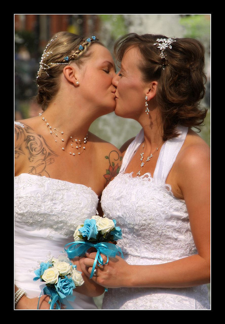 wedding kiss 1