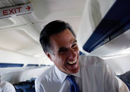 Mitt Romney Campaigns Across U.S. For Super Tuesday Primaries