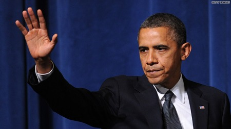 President Obama resigns