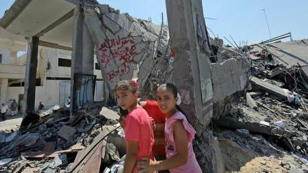Gaza strip 080714