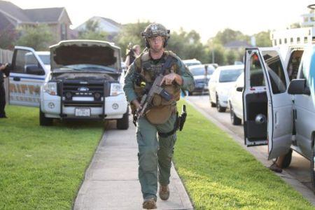 Spring shooting SWAT