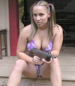 bikini-and-grease-gun