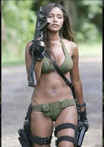 diversity bikini gun
