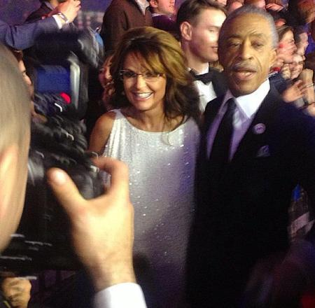 Palin Sharpton SNL 40
