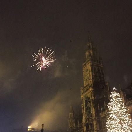 Munich fireworks