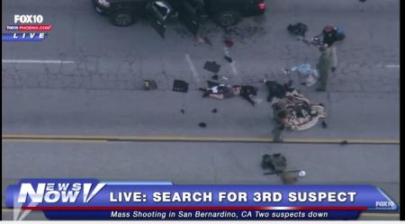 San Bernardino shooting suspect dead