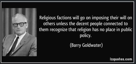 Goldwater Religion Quote
