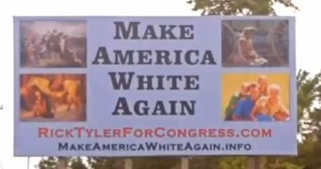 Make America White Again Rick Tyler
